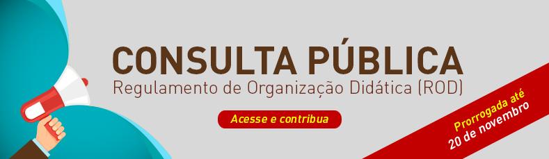 Regulamento de Organização Didática (ROD)