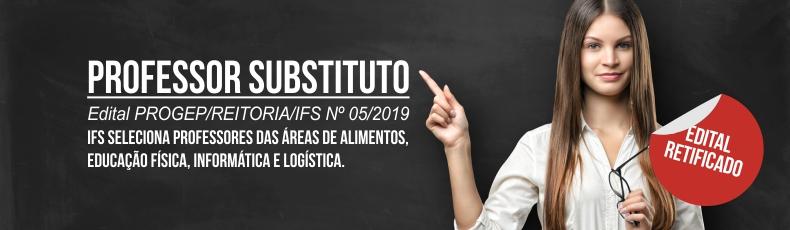 Professor substituto 05/2019